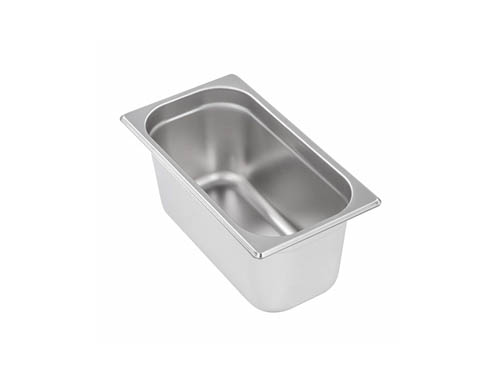 1/4 Stainless Steel Gastronorm Containers