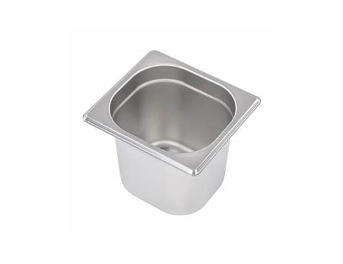 1/6 Stainless Steel Gastronorm Containers