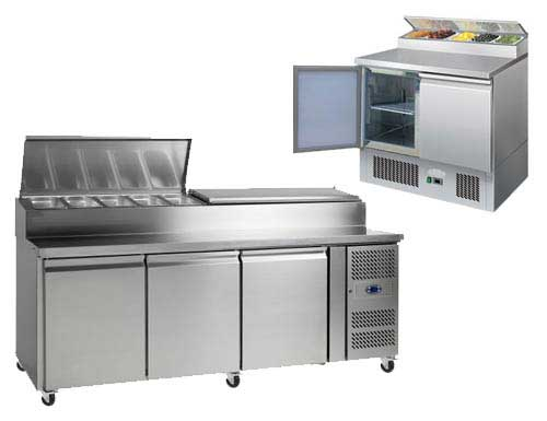 Preparation Counters Chiller