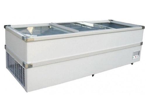 Glass Door Jumbo Chest Freezer