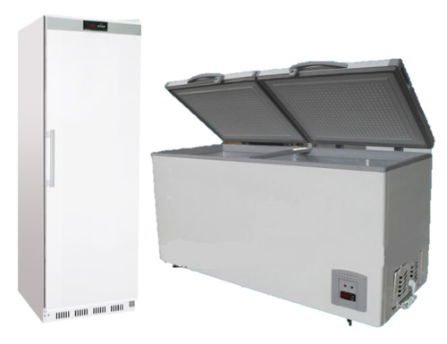 Solid Lid Freezer