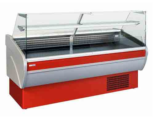Display Chiller Beta Strait Glass