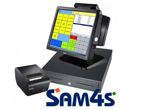 Touch Screen Epos Terminal