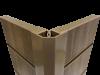 2-Piece Corner Quadrant