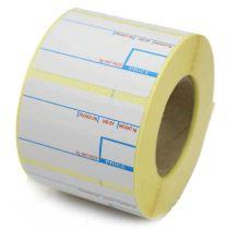 CAS compatible 2 Colour Scale Labels 58mm x 40mm (10 Rolls - 7,500 Labels)