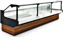 Remote Meat Display Fridge Ayhan 125cm