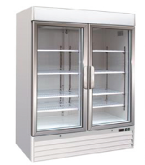 Glass Door Chiller Fridge Dover 137cm