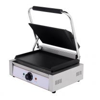 Contact Grill Double / Ribbed Top & Smooth Bottom