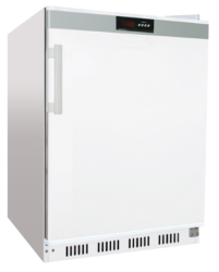 Solid Door Freezer White Iceland Low 60F