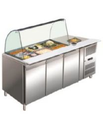 Stainless Steel Countertop Margate 180cm