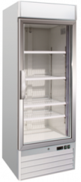 Upright One Glass Door Freezer Soli 68cm
