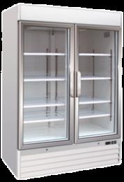 Upright One Glass Door Freezer Soli 137cm