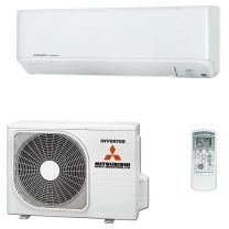 Mitsubishi Inverter SRK35ZMP-S Indoor, SRC35SMP-S Outdoor INCL Controller 3.2KW Single Phase