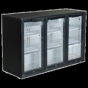 Bar Cooler 1.3m (1355mm 4ft) Hinge Door